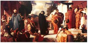 フレデリック・レイトン – 囚われのアンドロマケー (Frederick Lord Leightonより)のサムネイル画像