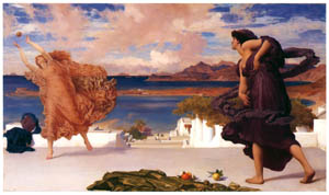 thumbnail Frederic Leighton – Greek Girls Playing Ball [from Frederick Lord Leighton]