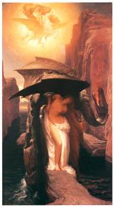 フレデリック・レイトン – ペルセウスとアンドロメダ (Frederick Lord Leightonより)のサムネイル画像