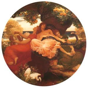 フレデリック・レイトン – ヘスペリデスの園 (Frederick Lord Leightonより)のサムネイル画像