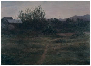thumbnail Wada Eisaku – Dusk in the Evening [from Retrospective Exhibition of Wada Eisaku]