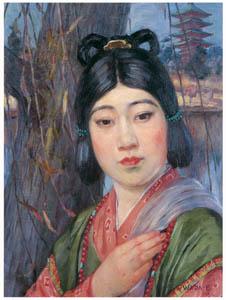 和田英作 – 天平の女 (和田英作展より)のサムネイル画像