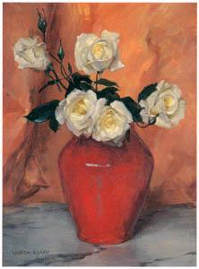 和田英作 – 薔薇 [白] (和田英作展より)のサムネイル画像