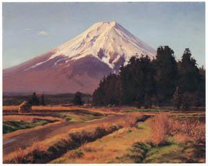 thumbnail Wada Eisaku – Mt. Fuji [from Retrospective Exhibition of Wada Eisaku]