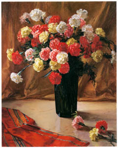 thumbnail Wada Eisaku – Carnations [from Retrospective Exhibition of Wada Eisaku]