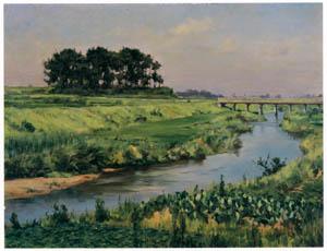 thumbnail Wada Eisaku – The Aizuma River [from Retrospective Exhibition of Wada Eisaku]