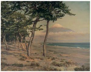 thumbnail Wada Eisaku – Mt. Fuji from Miho [from Retrospective Exhibition of Wada Eisaku]