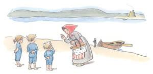 エルサ・ベスコフ – 挿絵3 (ぼうしのおうちより)のサムネイル画像
