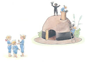 thumbnail Elsa Beskow – Plate 6 [from The Children of Hat Cottage]