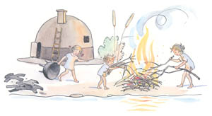 thumbnail Elsa Beskow – Plate 8 [from The Children of Hat Cottage]