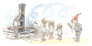 thumbnail Elsa Beskow – Plate 12 [from The Children of Hat Cottage]