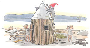thumbnail Elsa Beskow – Plate 13 [from The Children of Hat Cottage]