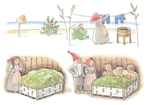 thumbnail Elsa Beskow – Plate 16 [from The Children of Hat Cottage]