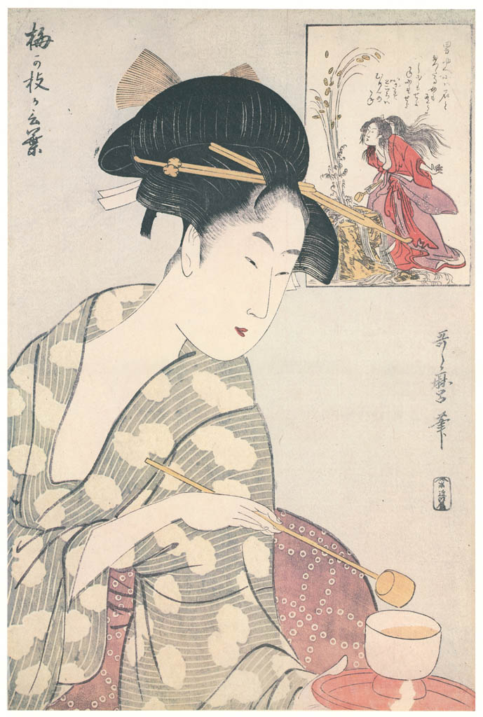 Kitagawa Utamaro – The Story of Umegae [from Ukiyo-e shuka. Museum of Fine Arts, Boston III]