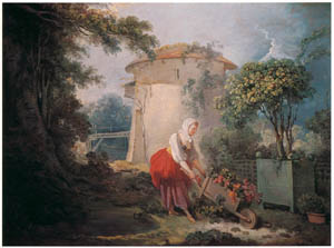 thumbnail Jean-Honoré Fragonard – THE ROSE CART [from Fragonard]