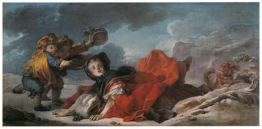 Jean-Honoré Fragonard – WINTER [from Fragonard]