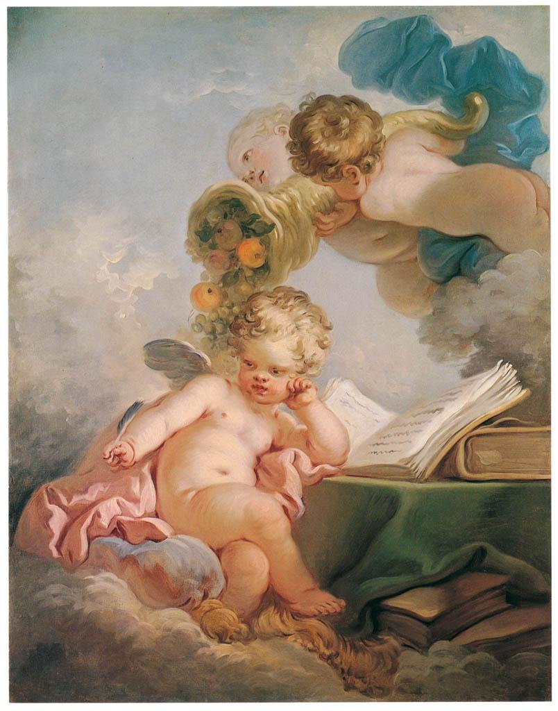 Jean-Honoré Fragonard – DAY [from Fragonard]