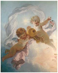 ジャン・オノレ・フラゴナール – 曙 (フラゴナール展 図録より)のサムネイル画像