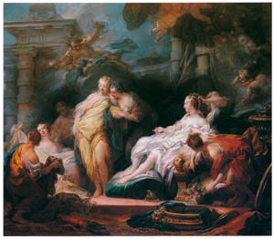 thumbnail Jean-Honoré Fragonard – PSYCHE SHOWING HER SISTERS THE PRESENTS SHE HAS RECEIVED FROM CUPID [from Fragonard]