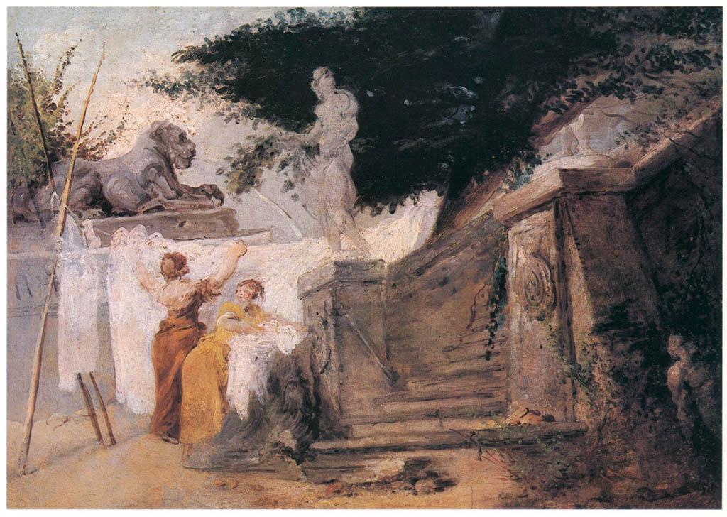 Jean-Honoré Fragonard – THE WASHERWOMEN [from Fragonard]