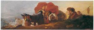 ジャン・オノレ・フラゴナール – 農場をあとに (フラゴナール展 図録より)のサムネイル画像
