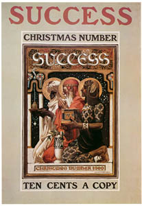 thumbnail J. C. Leyendecker – Success Magazine cover, Christmas. 1900. [from The J. C. Leyendecker Poster Book]