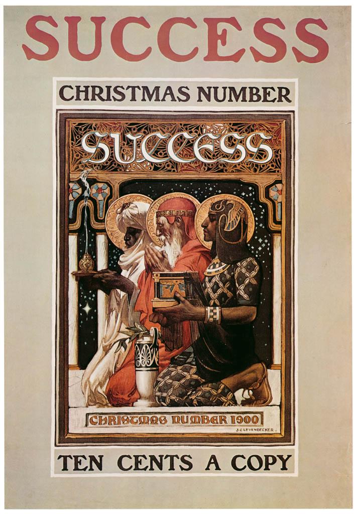 J. C. Leyendecker – Success Magazine cover, Christmas. 1900. [from The J. C. Leyendecker Poster Book]
