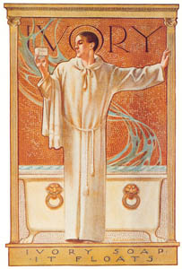 thumbnail J. C. Leyendecker – Ivory Soap advertisement, 1900. Courtesy Procter & Gamble Co. [from The J. C. Leyendecker Poster Book]