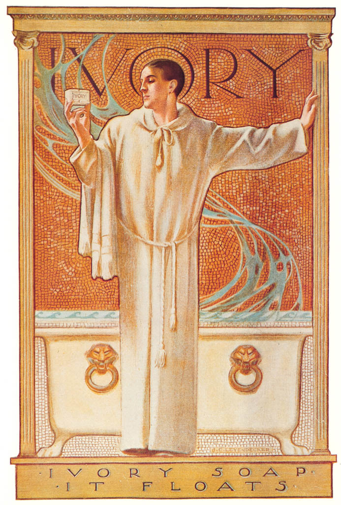 J. C. Leyendecker – Ivory Soap advertisement, 1900. Courtesy Procter & Gamble Co. [from The J. C. Leyendecker Poster Book]