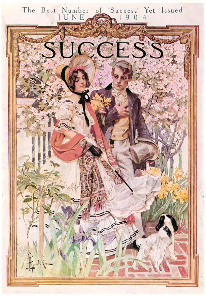 J. C. Leyendecker – Success Magazine cover. June 1904. [from The J. C. Leyendecker Poster Book]