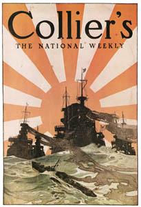 J・C・ライエンデッカー – ウェストワード・ホー! [1907年12月号のコリアーズマガジンの表紙] (The J. C. Leyendecker Poster Bookより)のサムネイル画像