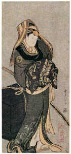 thumbnail Kitagawa Utamaro – Actor Yamashita Kinsaku II as Kokin [from Ukiyo-e shuka. Museum of Fine Arts, Boston III]