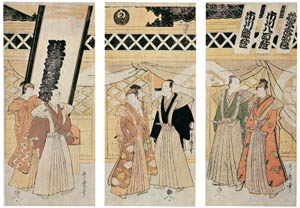thumbnail Kitagawa Utamaro – Six Selected Actors [from Ukiyo-e shuka. Museum of Fine Arts, Boston III]