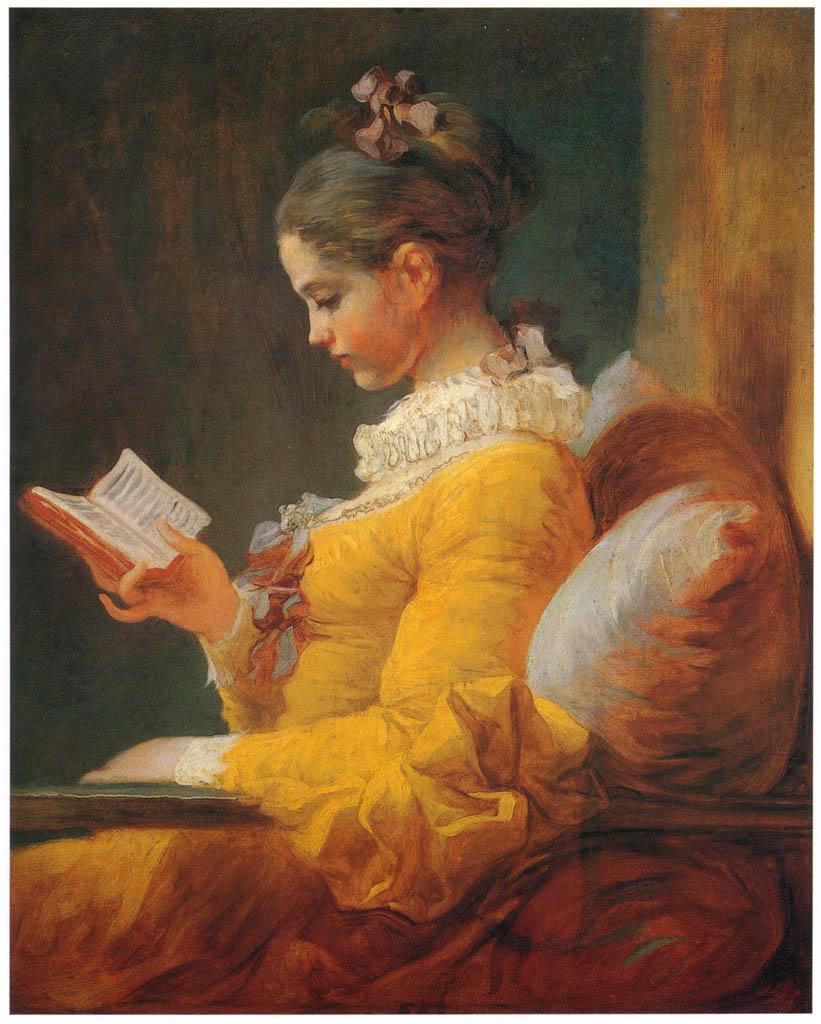 Jean-Honoré Fragonard – THE READER [from Fragonard]