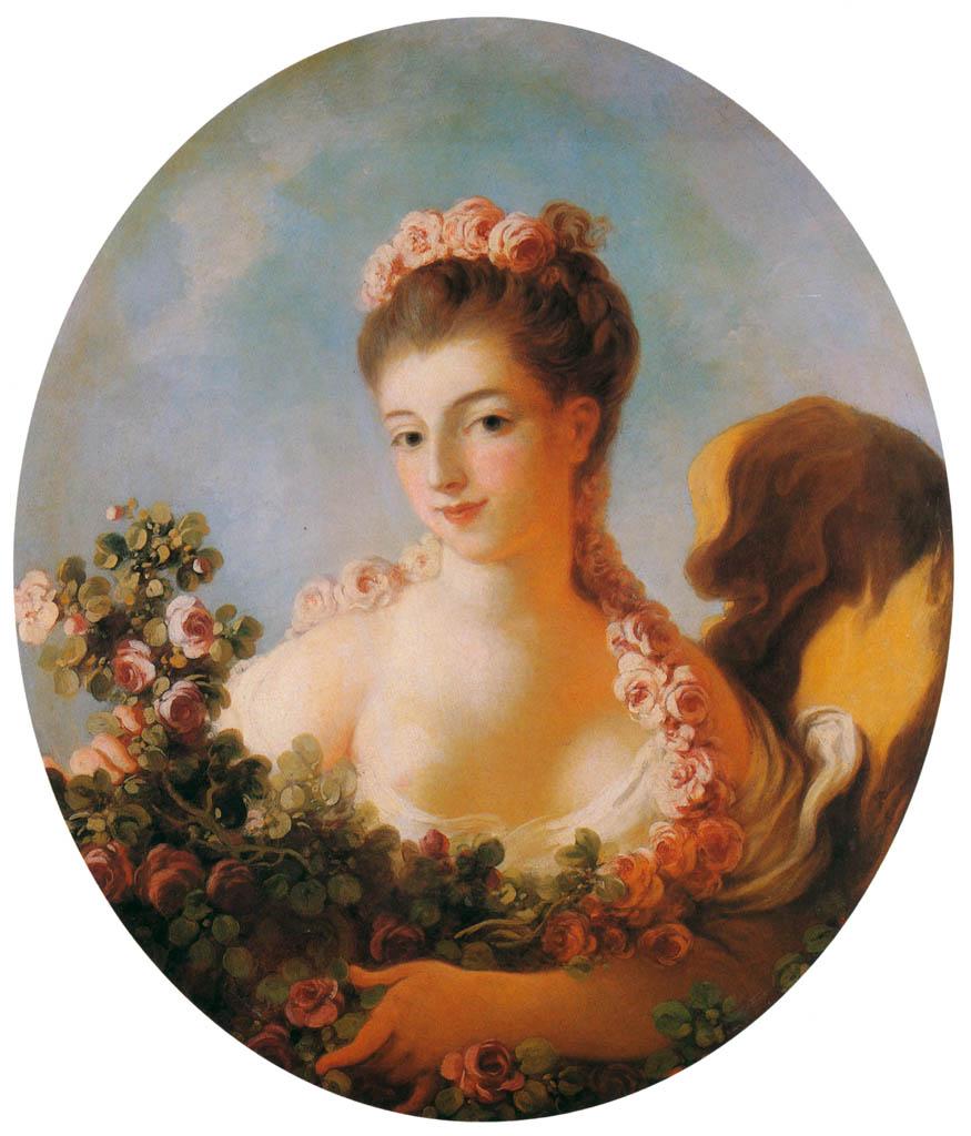 Jean-Honoré Fragonard – PORTRAIT OF ADELINE COLOMBE [from Fragonard]