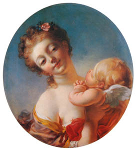 thumbnail Jean-Honoré Fragonard – VENUS REFUSING CUPID A KISS [from Fragonard]