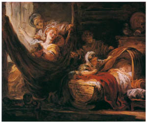 thumbnail Jean-Honoré Fragonard – THE CRADLE [from Fragonard]