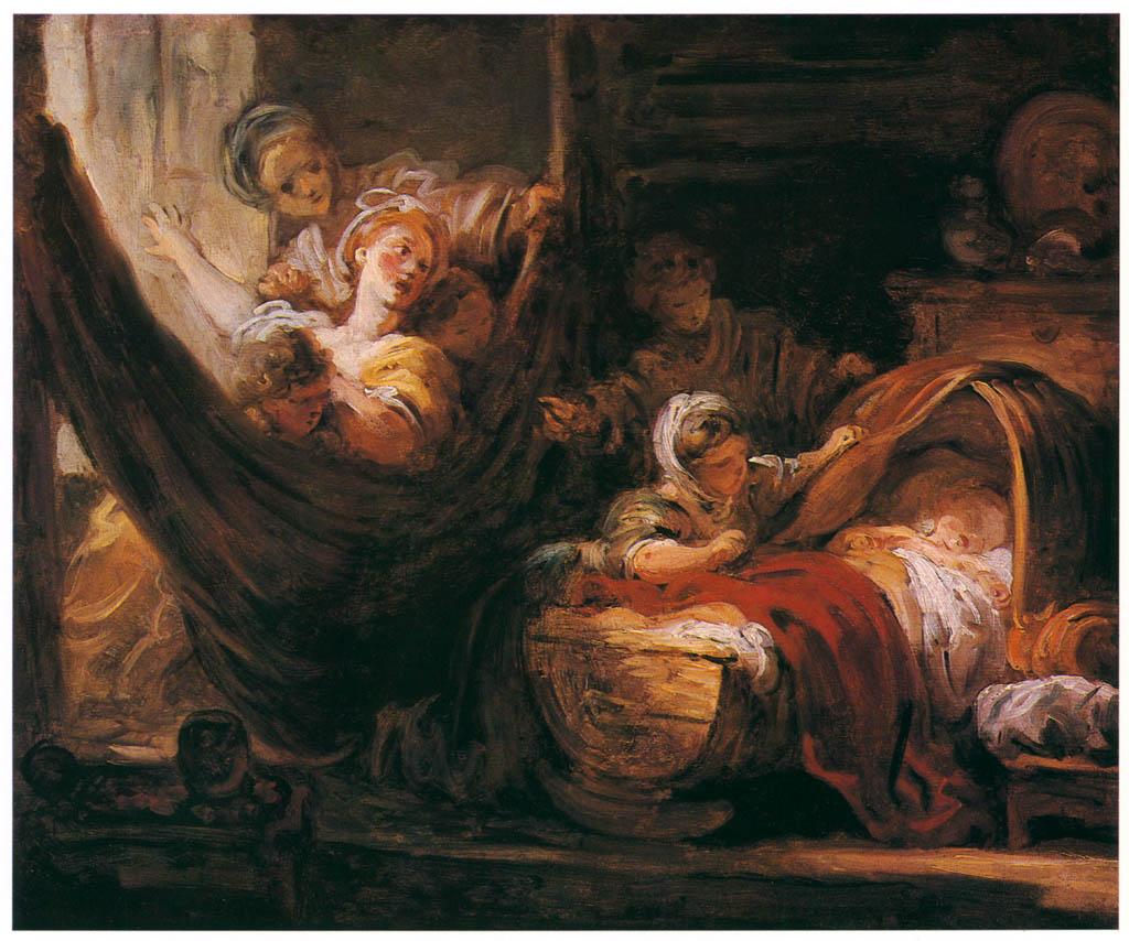 Jean-Honoré Fragonard – THE CRADLE [from Fragonard]