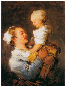 thumbnail Jean-Honoré Fragonard – MOTHER AND CHILD [from Fragonard]