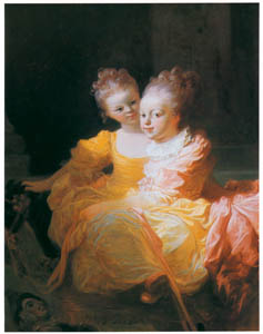 thumbnail Jean-Honoré Fragonard – THE TWO SISTERS [from Fragonard]