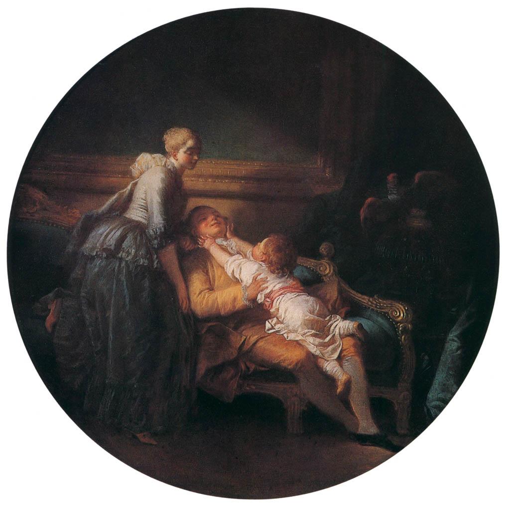 Jean-Honoré Fragonard – THE HAPPY HOUSEHOLD [from Fragonard]