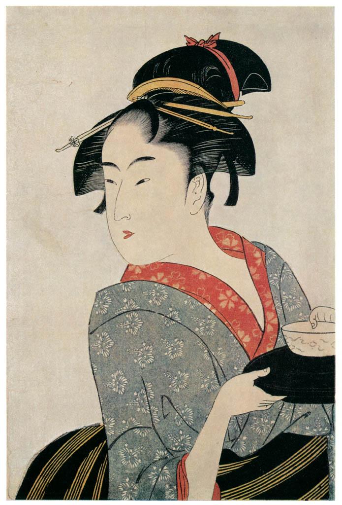 Kitagawa Utamaro – Naniwaya Okita [from Ukiyo-e shuka. Museum of Fine Arts, Boston III]