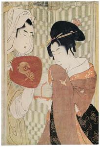 喜多川歌麿 – 虫売り (浮世絵聚花 ボストン美術館3 歌麿より)のサムネイル画像