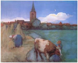 thumbnail Piet Mondrian – Gezicht op Winterswijk  [from Mondrian: 1872-1944: Structures in Space]