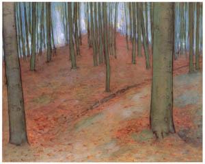 ピート・モンドリアン – 森 (ピート・モンドリアン 1872-1944 虚空の楼閣より)のサムネイル画像