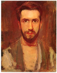 ピート・モンドリアン – 自画像 (ピート・モンドリアン 1872-1944 虚空の楼閣より)のサムネイル画像