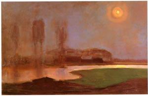 ピート・モンドリアン – 夏の夜 (ピート・モンドリアン 1872-1944 虚空の楼閣より)のサムネイル画像