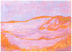 ピート・モンドリアン – 砂丘IV (ピート・モンドリアン 1872-1944 虚空の楼閣より)のサムネイル画像