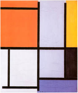 thumbnail Piet Mondrian – Compositie [from Mondrian: 1872-1944: Structures in Space]