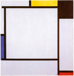 thumbnail Piet Mondrian – Compositie 2 [from Mondrian: 1872-1944: Structures in Space]
